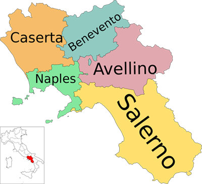 Campania Region Genealogical Researches